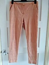 **PEACH DETAIL TROUSERS**SIZE 12**