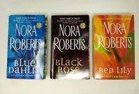 Nora Roberts:In the Garden Trilogy:Complete 3 PB set:Dahlia/Rose/Lily FREE SHIP