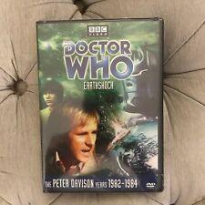 Doctor Who Peter Davison Story 122 Earthshock DVD BBC BRAND NEW