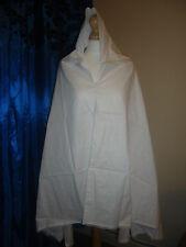 Ladies HAJJ UMRA PRAYER IHRAM ahram hijab khimar white large scarf Cotton Thin