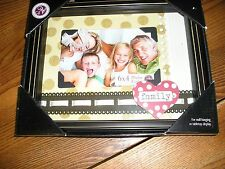 Family photo box frame...heart and ribbon...6 X 4 picture...3D...gift for mom
