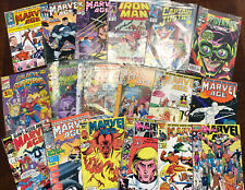 Lot of 45 Marvel Comics X-Men Spider-Man Ironman Punisher And Much More!