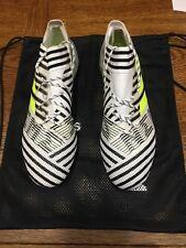 adidas nemeziz 17.1 Fg Black And White Size 10 Only