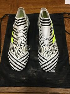adidas nemeziz 17.1 Fg Black And White Size 10.5   Only