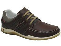 Mens Grisport Megellan Quality Brown Leather Deck Boat Shoes REDUCED