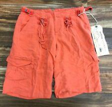 NEW Da-Nang Surplus Women's Silk Manderinered Pocket Shorts SKG5057 X-SMALL XS
