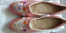 Silk Edwardian Evening Slippers