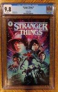 Stranger Things #1 CGC 9.8 SDCC 2019
