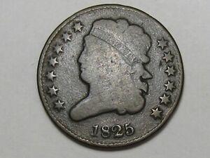 1825 US Classic Head Half Cent. #14