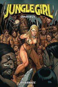 JUNGLE GIRL OMNIBUS GRAPHIC NOVEL Dynamite Comics Frank Cho 392 Pages! TPB