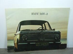 Brochure Prospekt Folder - BMW 1600-2 *47115