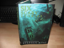 Stephen King selected Six Scary Stories illustrator signed sketched US 1st rare