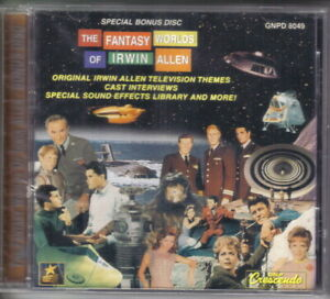 The Fantasy Worlds of Irwin Allen Soundtrack Limited CD GNP 1996 NEW SEALED