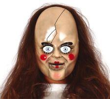 Anna Horror Puppe Maske NEU - Karneval Fasching Maske Gesicht