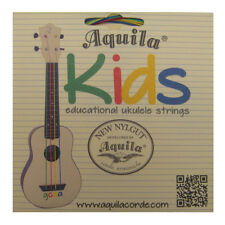 AQUILA UKULELE STRINGS - SUPER NYLGUT - KIDS COLOURED EDUCATIONAL STRINGS - 138U