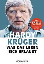 Was das Leben sich erlaubt von Hardy Krüger (16.10.2017, Taschenbuch)