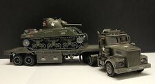 Taylor Made Trucks - Flatbed Truck With Sherman Tank M4A3