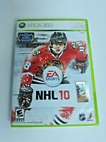 NHL 10 - Xbox 360 Game - Complete & Tested