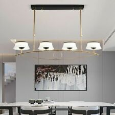 Modern Fixtures Pendant Lights Gold Body Indoor Restaurant Dining Table Lighting