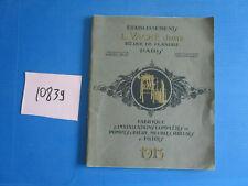N°10839 / catalogue L. VACHE :pompes a biere , meubles .tireuses  filtres ..1913