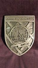 Bw-Wappen Fernmeldebatallion 940 Daun, Sonderanfertigung 2,2kg , schwer