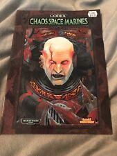 Warhammer 40k Codex Chaos Space Marines