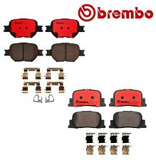For Scion TC 2-Door 05-10 2.4L Front & Rear Brake Pads Brembo P83054N/P83063N