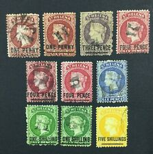 MOMEN: ST HELENA SG # P12.5 CROWN CC USED £455 LOT #5151