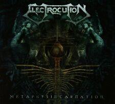 Electrocution - Metaphysincarnation Digipak CD (Gorego, 2014)  *rare Death Metal