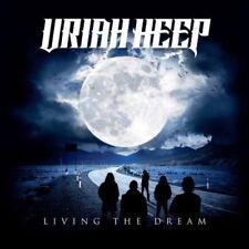 URIAH HEEP - LIVING THE DREAM - LP BLACK VINYL NEW SEALED 2018