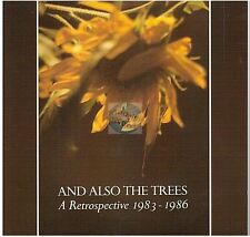AND ALSO THE TREES a retrospective 1983 - 1986 CD ALBUM no barcode NEW ROSE