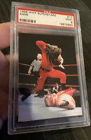 1998 Comic Images WWF Superstarz #17 Kane PSA 9 Rookie Card Pop 1/4 None Higher