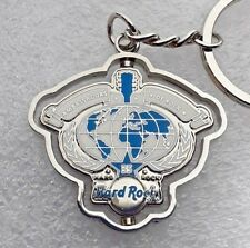 Hard Rock Cafe Rotating Keychain - Silver and Blue - Ambassadors of Rock