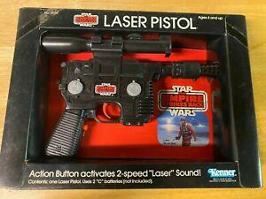 Vintage Star Wars ESB 2-Speed Laser Pistol - 1980 Kenner Toy - Unopened In Box