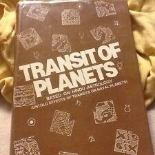 Transit of Planets, Hindu Astrology; HC 1993 2nd edition, by Chawdhri