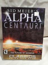 Sid Meier's Alpha Centauri (PC, 1998) Classics Complete boxed copy Best Civ game