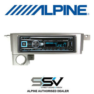 Alpine  CDE163BT car audio pack with dash fascia to suit Ford BA / Territory