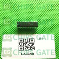 2PCS LA3410 Encapsulation:DIP-16,VCO Non-Adjusting PLL FM MPX Stereo