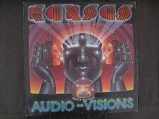 KANSAS (Vinyl) - Audio-Visions (Great Cover Design)