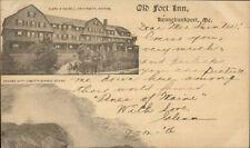 Kennebunkport ME Old Fort Inn c1905 Postcard