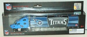 TENNESSEE TITANS NFL FOOTBALL 1:80 DIECAST - SEMI TOY TRUCK TRACTOR TRAILER 2012