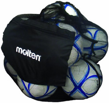 Molten Mesh design Ball Bag Holds up to 12 volleyballs or soccer balls Brand New