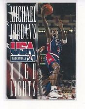 1994 UPPER DECK USA BASKETBALL INSERT JORDAN HIGHLIGHTS MICHAEL JORDAN #JH2