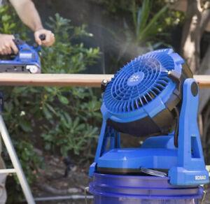 Kobalt 24v Misting Fan (fan only) Brand New Bare Tool Lowes