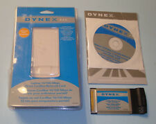 Dynex Notebook 10/100 Mbps 32 Bit CardBus Ethernet Network Card Adapter DX-E202
