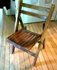 Vintage Wood Childs Folding Chair   Lobeca Romania