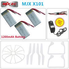 1200mAh Lipo batterie et chargeur+3in1 Câble+Crash Paquet Kit Pour MJX X101 FPV