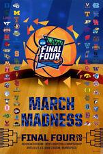 NCAA Men's Basketball Tournament Final Four 2019 Official 68-Team Field POSTER