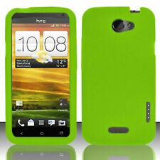 For AT&T HTC ONE X Rubber Soft Silicone Gel SKIN Case Phone Cover Neon Green