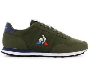 Le Coq Sportif Astra Sport Herren Sneaker Olive-Grün 2020011 Freizeit Schuhe NEU